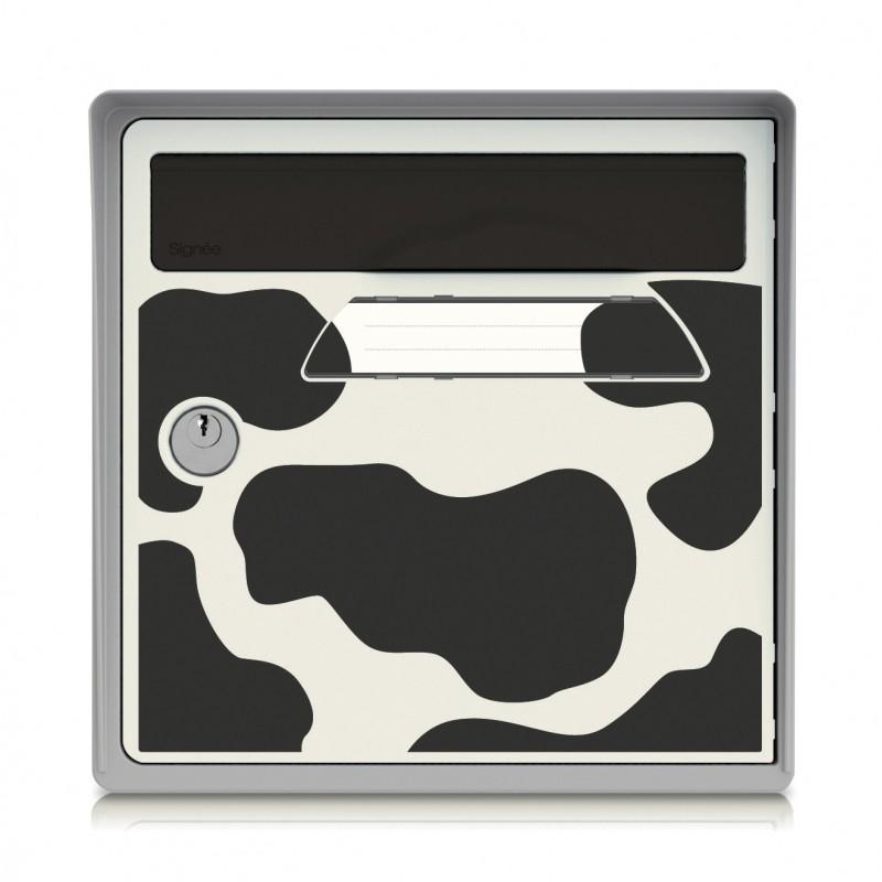 boite aux lettres murale gris breizh sign e. Black Bedroom Furniture Sets. Home Design Ideas